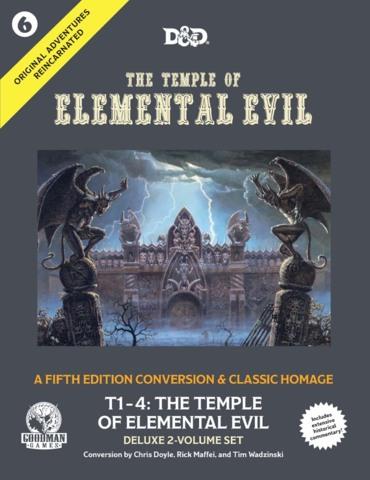 The Temple of Elemental Evil 5E