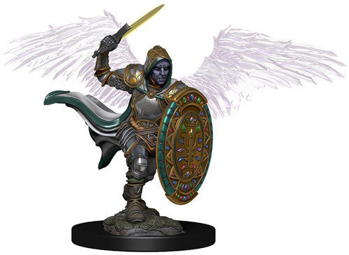 D&D Icons of the Realms Premium Miniatures: Aasimar Paladin