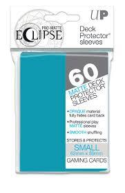 Ultra Pro Eclipse Mini Matte Sleeves - Sky Blue - 60ct