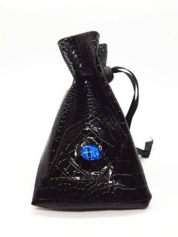 Dragon Eye RPG DnD Dice Bag: Black Wyrmling