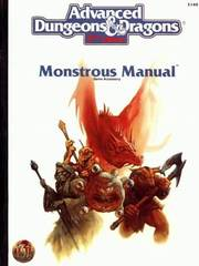 Second Edition Monstrous Manual White Cover