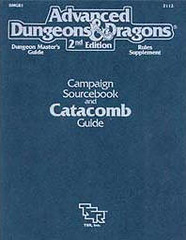 Campaign Sourcebook and Catacomb Guide DMGR1