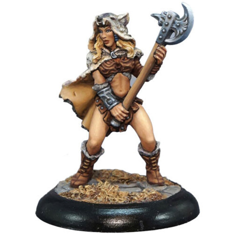 Kyrie, Female Barbarian
