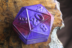 Theme Box: Flame Birch Ruby - D20