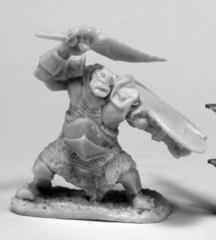 Orc Slicer (Scimitar & Shield)
