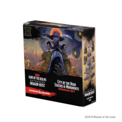 Icons of the Realms - Waterdeep - Dragon Heist - City of the Dead Statues and Monuments Premium Set