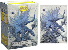 Dragon Shield Art Matte Sleeves - Seer of the God Hand - 100ct