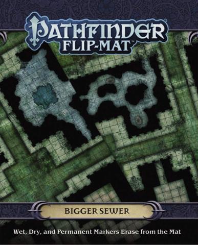 PF Flip-Mat: Bigger Sewer