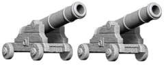 Deep Cuts Unpainted Minis - Cannons