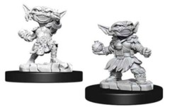 Deep Cuts Unpainted Minis - Female Goblin Alchemist