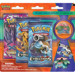 Mega Venusaur - Collector's Pin 3-Pack Blister