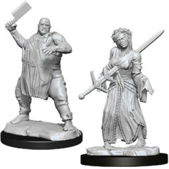 Magic the Gathering Unpainted Miniatures: W03 Ghouls