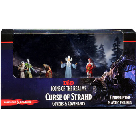 Icons of the Realms Premium Miniatures - Curse of Strahd: Covens & Covenants Box Set