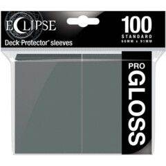 Ultra Pro Eclipse Gloss Sleeves - Smoke Grey - 100ct