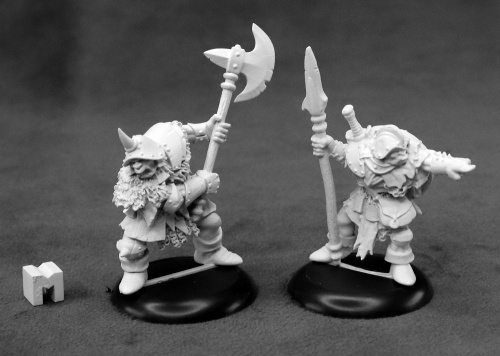 Dungeon Dweller Orc Warriors