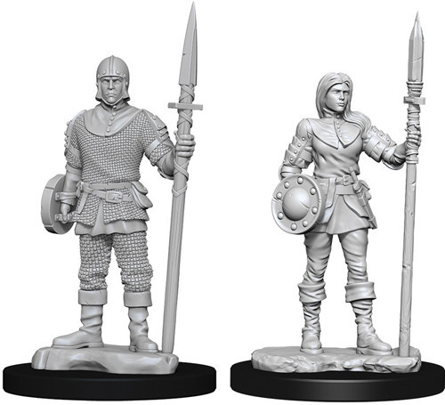 Deep Cuts Unpainted Minis - Guards