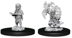 Deep Cuts Unpainted Minis - Male Gnome Sorcerer