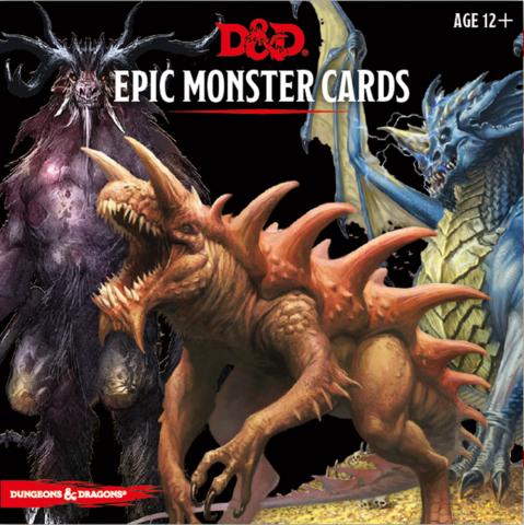 D&D Epic Monster Card Deck