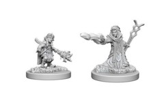 D&D Unpainted Minis - Gnome Female Wizard