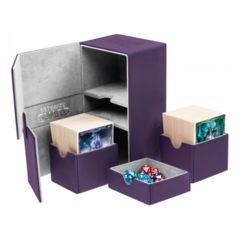 Ultimate Guard Twin Flip'n'Tray - TWIN FLIP'n'TRAY  DECK CASE 160+ - Purple