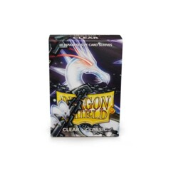 Dragon Shield Japanese Classic Sleeves - Clear - 60ct