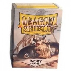 Dragon Shield Sleeves: Matte Ivory (Box Of 100)