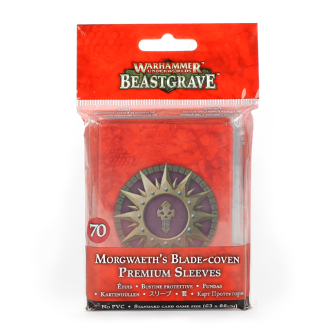WHU: MORGWAETHS BLADE-COVEN CARD SLEEVES