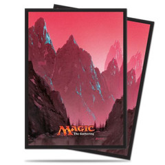 Ultra Pro - Magic the Gathering: Mana Series 5 Mountain Deck Protector Sleeves