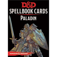 Dungeons & Dragons: Updated Spellbook Cards - Paladin Deck
