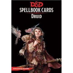 Dungeons & Dragons: Updated Spellbook Cards - Druid Deck
