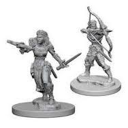 Dungeons And Dragons: Nolzur's Marvelous Unpainted Miniatures - Elf Female Rangers