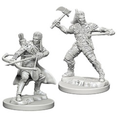 Dungeons And Dragons: Nolzur's Marvelous Unpainted Miniatures - Human Male Rangers