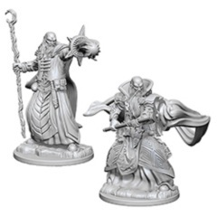 Dungeons And Dragons: Nolzur's Marvelous Unpainted Miniatures - Human Male Wizards