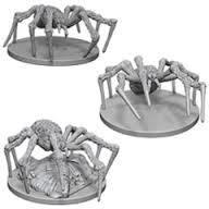 Nolzur's Marvelous Unpainted Miniatures - Spiders