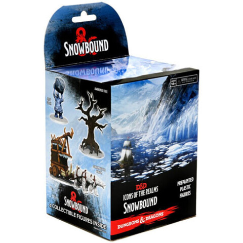 Dungeons & Dragons Fantasy Miniatures: Icons of the Realms Set 19 Snowbound Booster Pack