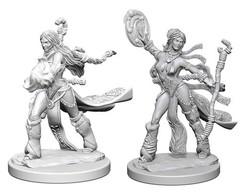 Pathfinder Battles Unpainted Minis - Human Female Sorcerer