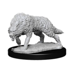Deep Cuts Unpainted Minis - Timber Wolf