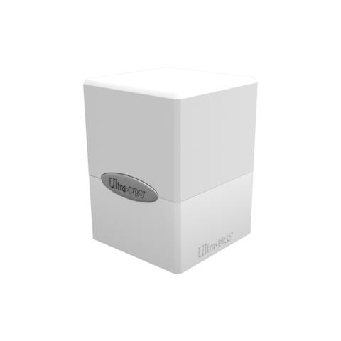 Ultra Pro Satin Cube Deck Box: White