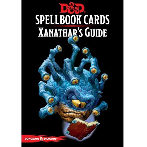 Dungeons & Dragons: Xanathars Guide - Spellbook Cards
