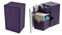 Ultimate Guard 80+ Twin Flip'n'Tray: Purple