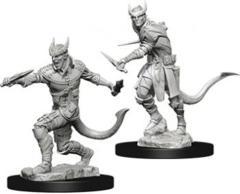 Nolzur's Marvelous Unpainted Miniatures - Tiefling Rogue (Male)