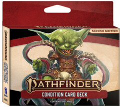 Pathfinder 2E RPG: Condition Card Deck