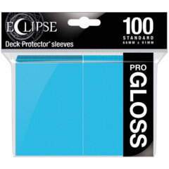 Ultra Pro Eclipse Gloss Sleeves - Sky Blue - 100ct