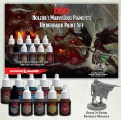 D&D Nolzurs Marvelous Pigments - Underdark Paint Set