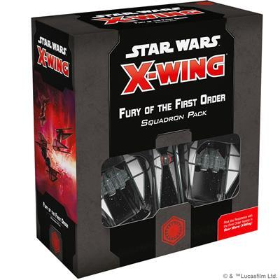 Star Wars X-wing Fury of the First Order Squadron Pack