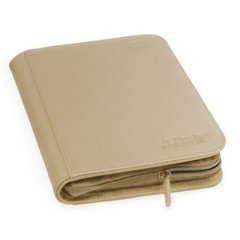 Ultimate Guard Zipfolio XenoSkin - 4 Pocket -  Sand