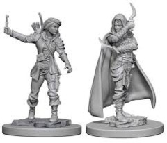 Pathfinder Battles Unpainted Minis - Human Female Rogue