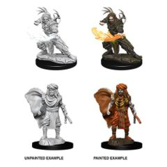 D&D Unpainted Minis - Human Male Druid (2)