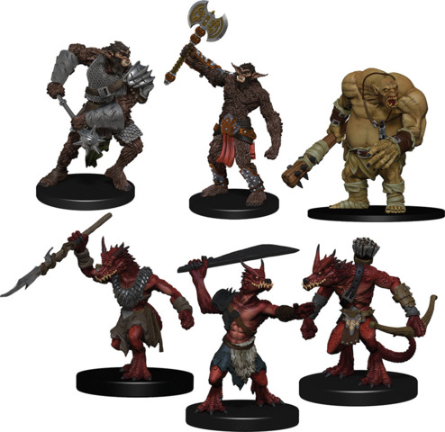 Icons of the Realms Monster Pack: Cave Defenders