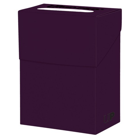 Ultra Pro Standard Plum Deck Box
